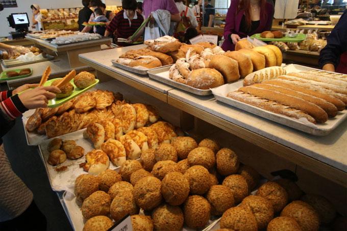 이성당에서 맛볼 수 있는 빵들