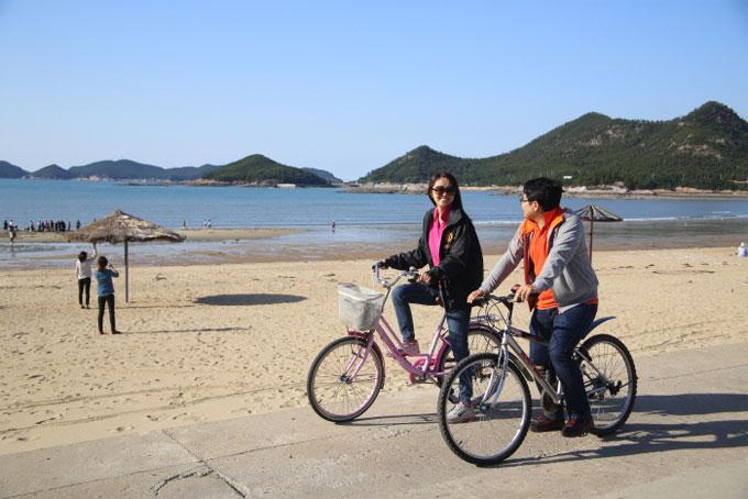 선유도 자전거여행