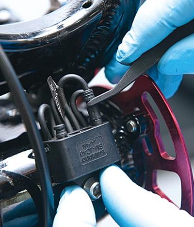 미캐닉룸_시마노 XTR Di2 장착과 세팅