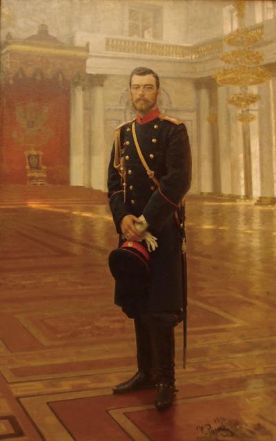 로마노프 왕조의 마지막 황제 니콜라이