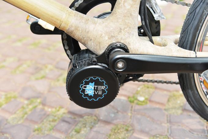 벨로스타의 주력상품인 센터드라이브. 그 어떤 자전거에도 장착 가능하다.