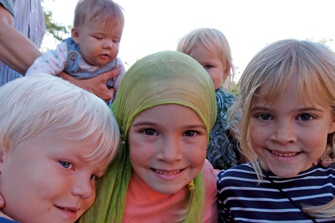 스칸센에서 만난 꾸밈 없는 아이들