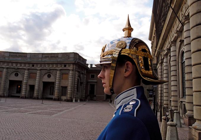 왕궁을 지키는 근위병