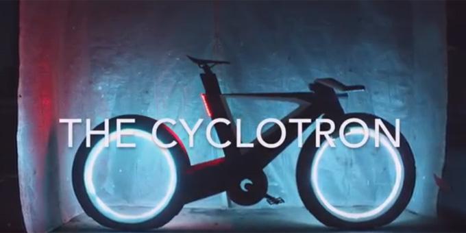 싸이클로트론 자전거 / 싸이클로트론 자전거 홍보 영상 한 장면