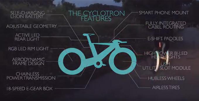 다양한 기능을 가진 싸이클로트론 자전거 / 싸이클로트론 자전거 홍보 영상 한 장면