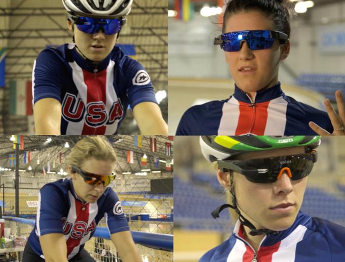 2016 리우 올림픽에 참가한 미 사이클 대표팀은 올림픽 대비 훈련에서 솔로스 스마트 고글을 착용해 보다 전문적이고 과학적인 트레이닝을 받았다.