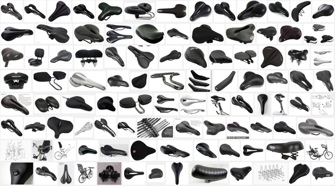 다양한 안장의 종류