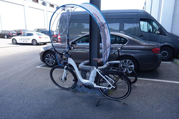 보쉬 전동시스템을 장착한 독일의 생활형 자전거