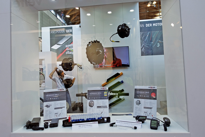 ANSMANN 모터와 배터리 구성품.  13S 4P 672 Wh로 3.6V 3600mA셀로 구성