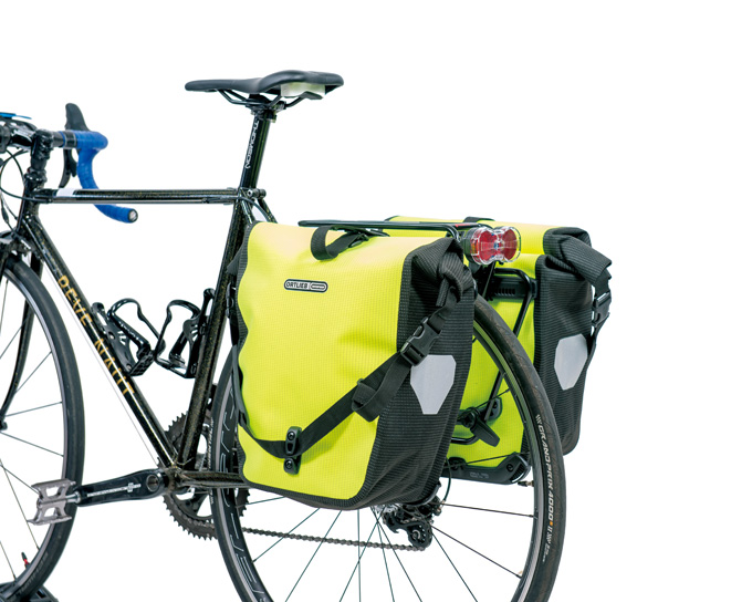 자전거로 출퇴근 하나요? 투부스 로고 리어랙 & 오르트립 백롤러 리플렉스 패니어