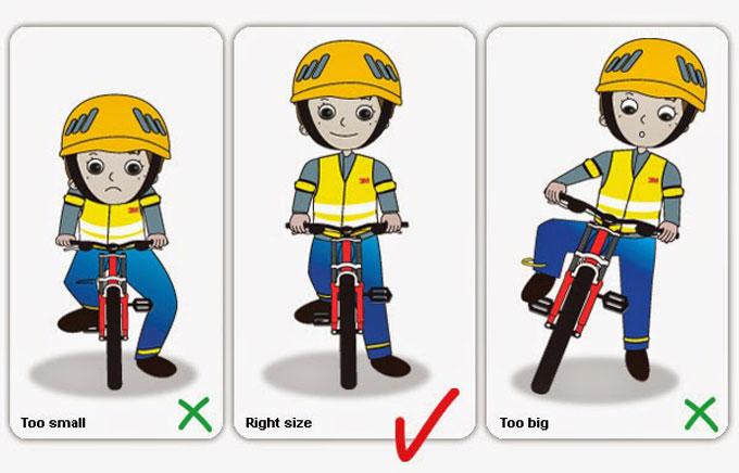 성장기 어린이들의 자전거 안전사고를 예방하기 위해서 자전거의 정기적인 조정이 필요하다.