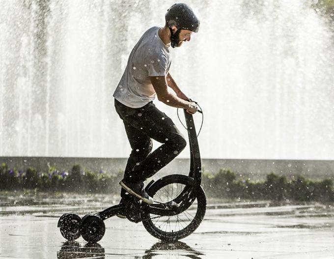 서서 타는 자전거 Halfbike(하프바이크)