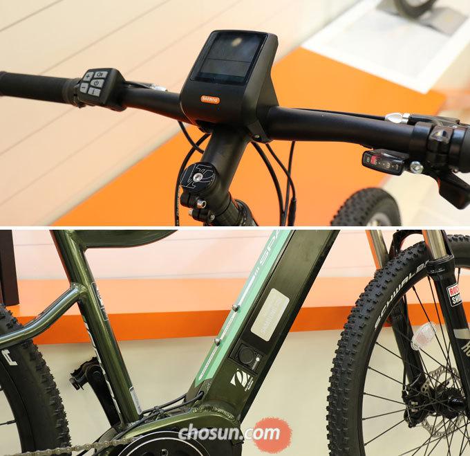 '알톤 스페이드'는 센터드라이브 방식을 적용한 알톤스포츠의 신규 주력 전기자전거이다.