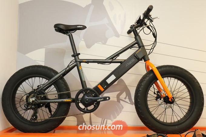 알톤 전기자전거의 맏형 'E-노바투스'