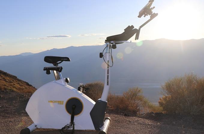 집 안에서 즐기는 실내용 자전거 '버치바이크 라이트(Virchybike LITE)'