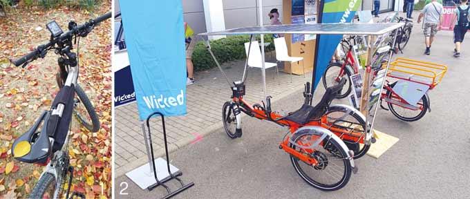 1 전기자전거도 운치가 있다. 만추의 전기자전거 2 유로바이크에 선보인, 태양광 발전을 하면서 달리는 장거리용 전기자전거