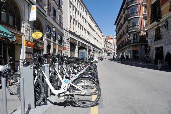 시에서 운영하는 공용 전기자전거