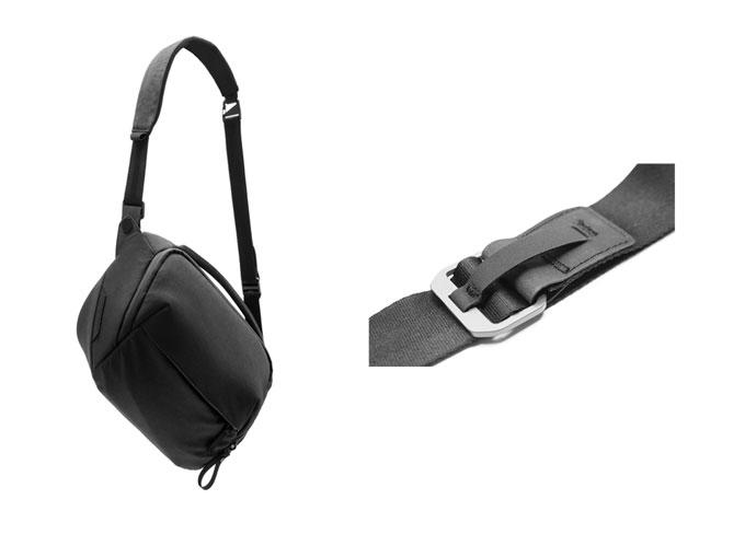 손쉽게 가방끈 길이를 조절할 수 있다.