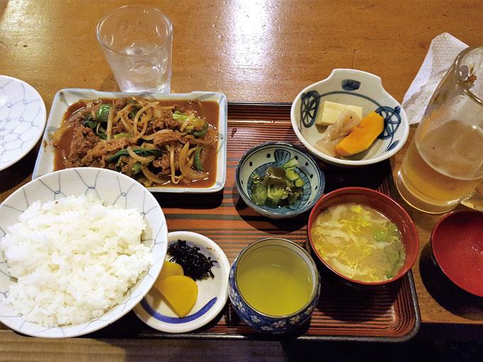 일본식 제육볶음.