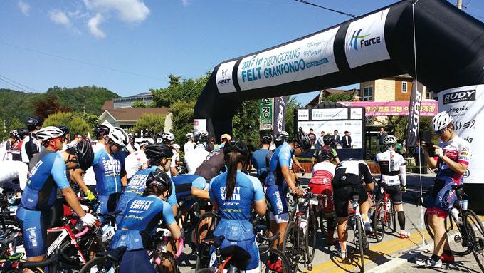 필자는 그란폰도야 말로 자전거인의 큰 축제라고 표현하고 싶다.