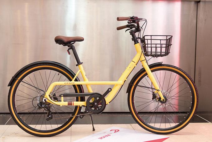 페이지는 스완 형태의 프레임으로 승하차가 편리한 생활형 저전거이다. 유압식 디스크 브레이크의 적용으로 강력한 제동력을 자랑하며 바구니를 추가로 장착할 수 있어 일상용도로 적합하다.