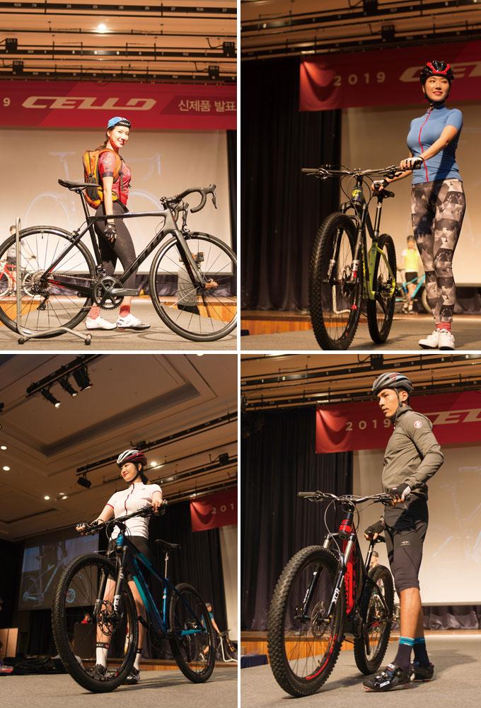 자칫 심심할 수 있는 발표회에 모델을 통해 집중도를 높였다. 다만 의상 디자인이 모델과 자전거의 멋을 다 살려내지 못한 것 같아 다소 아쉬움이 남는다.