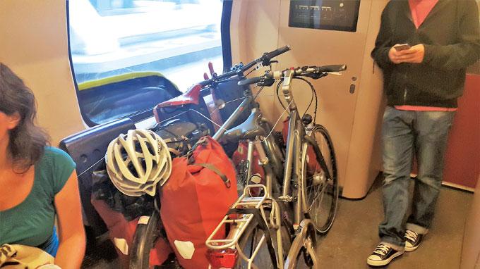자전거 우선 좌석.