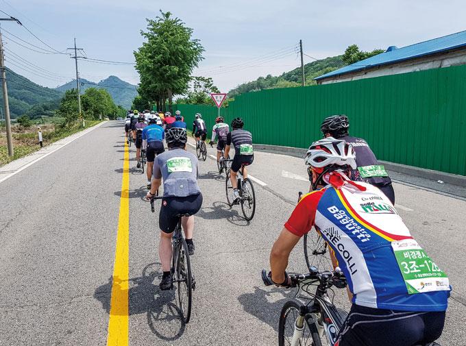 자전거로 DMZ를 달리다 '2019 투르 드 DMZ'