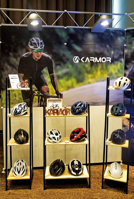 카머 헬멧 라인업
