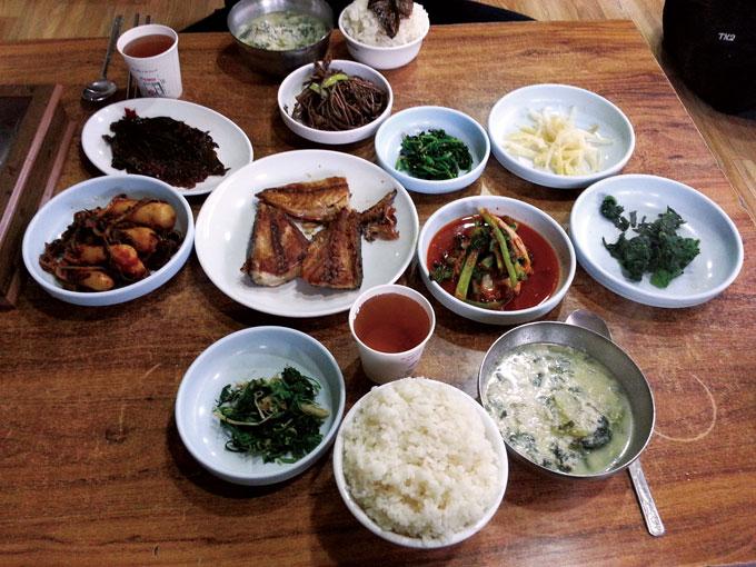 ▲ 보편적인 한끼 식사만으로도 회복은 충분하다.